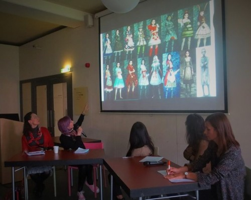 Alice and Fashion Roundtable, Victoria and Albert Museum for Childhood, 2015.